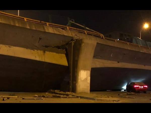 【痛心】江苏高架桥侧翻事故:已致3死2伤,初步分析系超载所致!